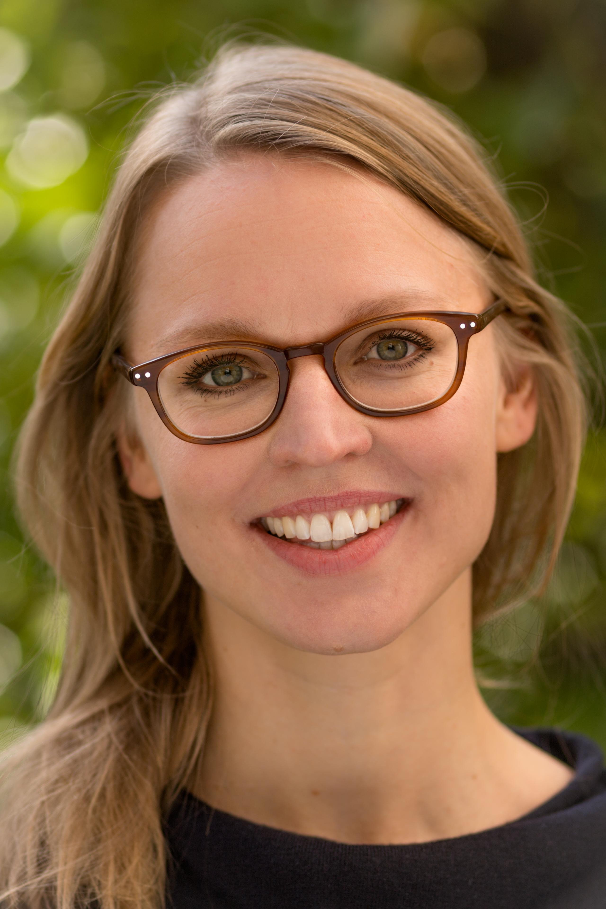 Portrait von Antonia Demir (geb. Weßel)